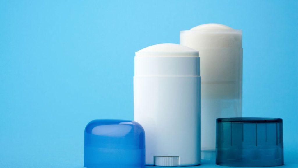 Deodarant has Aluminum chloride that can help stop the bleeding